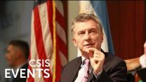 Video thumbnail for Argentina at a Turning Point: An Address by President Mauricio Macri of Argentina [English]