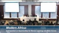 Video thumbnail for Panel 2: Modern Africa: A Symposium on Opportunities for Women in Energy and Water Access
