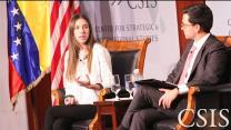 Video thumbnail for A Conversation with Venezuelan First Lady Fabiana Rosales de Guaidó