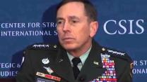 Video thumbnail for Military Strategy Forum with General David Petraeus
