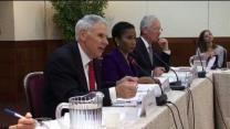Video thumbnail for CSIS Commission on Smart Global Health Policy: A Healthier, Safer and More Prosperous World