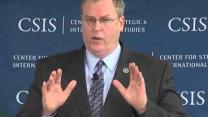 Video thumbnail for Military Strategy Forum Robert O  Work, Undersecretary of the Navy Main Speaker