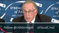 Video thumbnail for Gates, Mullen, Simpson, Bowles, Bell, Bixby, Rivlin & Domenici on Nat Sec & U.S. Debt